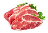 Darab nyers hús