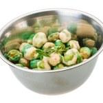 ������, ������: Crispy green peas