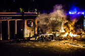Protest proti diktaturu na Ukrajině začne mít násilný charakter