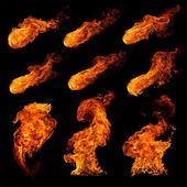 Oheň sada