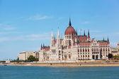 Budování maďarského parlamentu