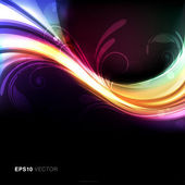 Colorful bright and vivid abstract vector background