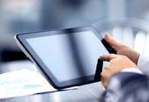 Podnikatel hospodářství digitální tablet