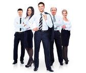 Gruppe von Business-People-Team. isoliert auf weißem Hintergrund