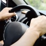 Hands on wheel