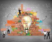 Budova jeden nový Tvoøivý idea