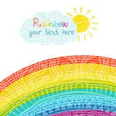Helle Regenbogen Abbildung