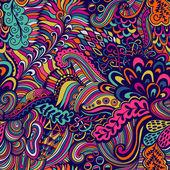Vektorové bezešvých textur s abstraktní květy. nekonečné poza