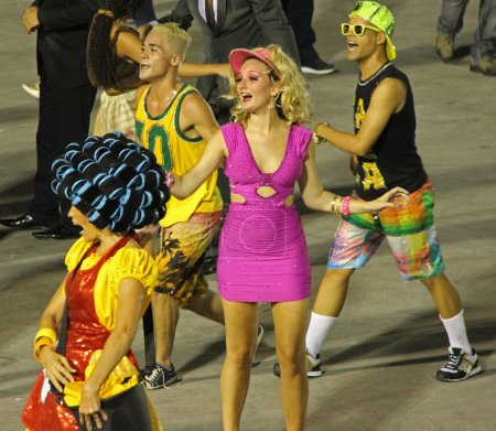 Постер, плакат: Rio Carnaval, холст на подрамнике