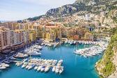 Přístav v Monaku