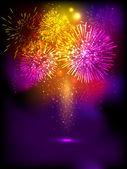 Oheň sušenky pozadí pro diwali festival oslavy v indi