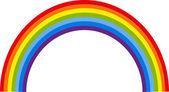 Vector rainbow background
