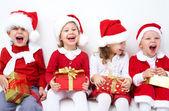 Vtipné vánoční společnost