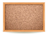 Vector illustration - corkboard on white EPS 10 RGB Use transparency and blend modes