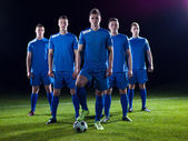 A játékosok futballcsapat
