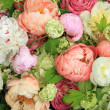 Постер, плакат: Peonies in a wedding arrangement
