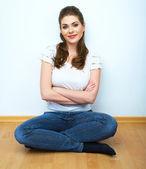 Pozitivní usmívající se žena
