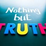Постер, плакат: Nothing but truth