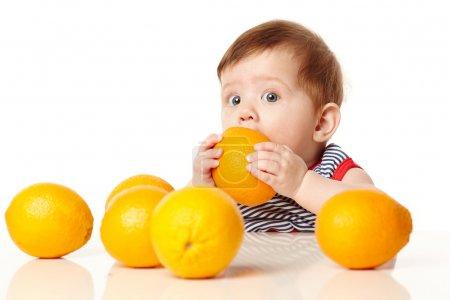 可爱的小宝贝橙