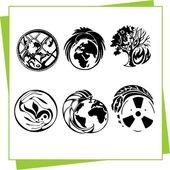 Eco-Design elemek és ikonok