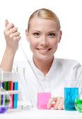 Weibliche Wissenschaftler