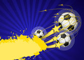 Football poster (background for design)