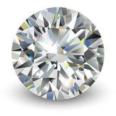 Diamond realistic vector illustration