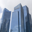 Постер, плакат: Skyscrapers in Marina Bay