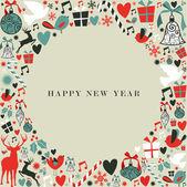 Vánoční ikony 2013 šťastný nový rok