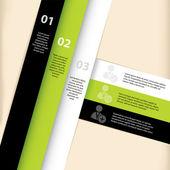 Infographic sablont tervez-val társadalmi hálózat ikonok