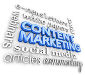 Content-Vermarktung Wort