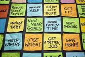 Novoroční cíle nebo usnesení