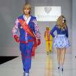 Постер, плакат: Sergey Zverev at fashion show