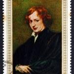 ������, ������: Postage stamp Yemen 1967 Self portrait by Anthony van Dyck