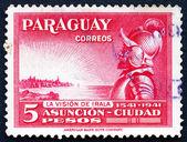 Poštovní známka paraguay 1942 domingo martinez de irala, španělský c
