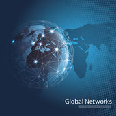 Globální sítě - Eps10 vektor pro vaše podnikání