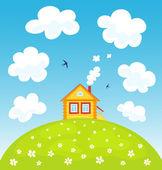 Letní dům na kopci