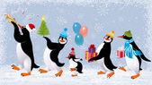 Lustige Pinguine