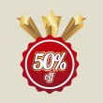 ������, ������: Fifty percent off
