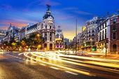 Madrid Stadtzentrum, Gran gegenüber Spanien