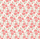 Shabby chic rose pattern