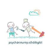 Psychoneuropathologist kontrolovat pacienta nervy