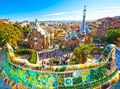 Park Güell in Barcelona, Spanien