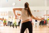 A nők Dance osztály