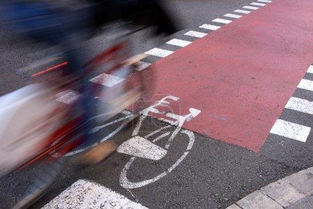 Постер, плакат: Commuter on Urban Facilities for Sustainable Transportation, холст на подрамнике