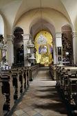 Starý interiér kostela