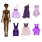 Panenku šaty up šaty sortiment