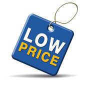 Niedrigen Preis-Symbol