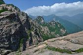 Panoramic view of National park Seoraksan, South Korea