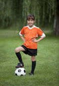 Fotbal holčička